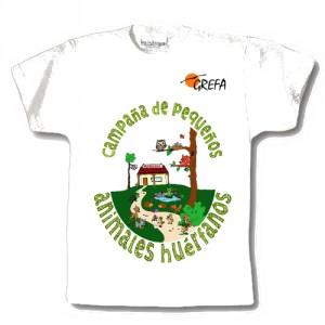Camiseta con motivo Campaña de Huérfanos
