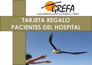 Tarjeta Regalo PACIENTES DEL HOSPITAL Anverso